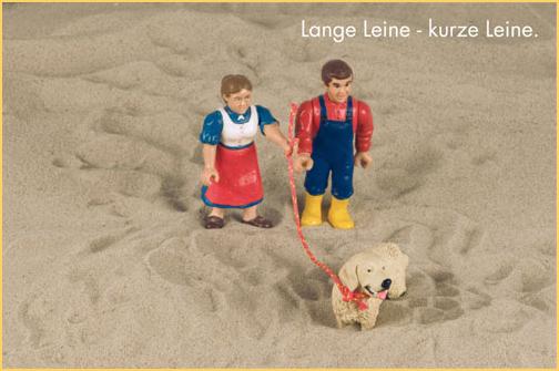 Erziehung - Lange Leine - kurze Leine